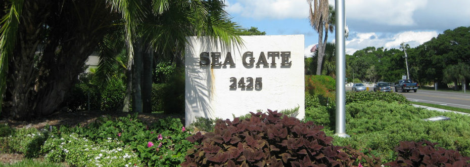 Entrance to Sea Gate Club